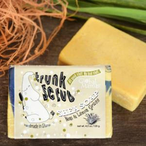 Trunk Scrub Shea Soap Noni/Lemon Grass