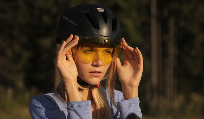 Free Sports Helmet with Goggle for order before Nov15th