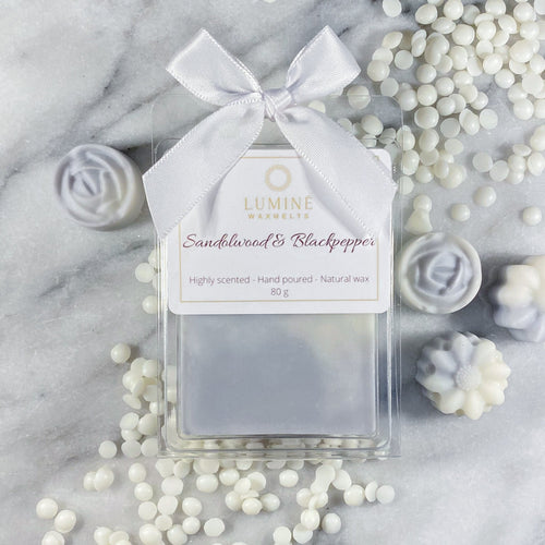 Sandalwood & Black pepper - waxmelts
