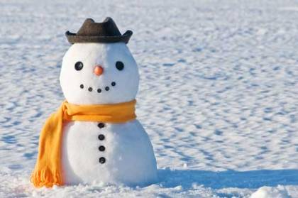 Winter Game: Build a Snowman
