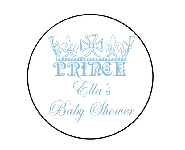 Prince Crown Labels-Stickers