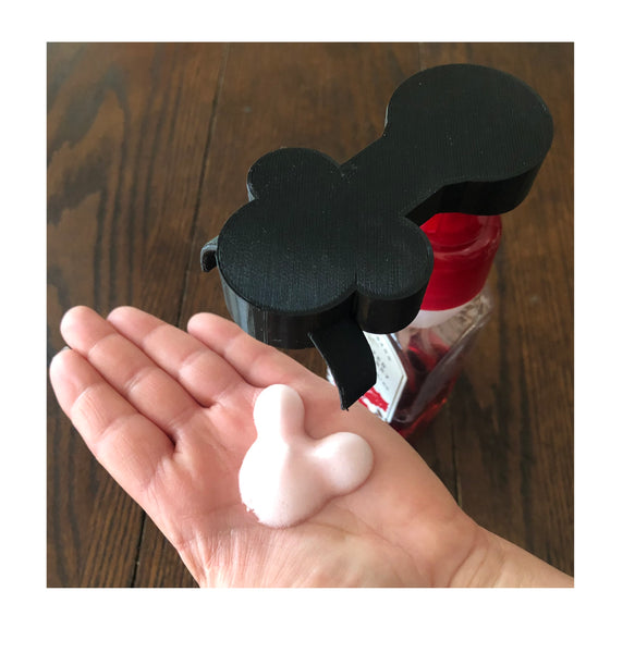 Black Magical Foam Soap Dispenser Adapter