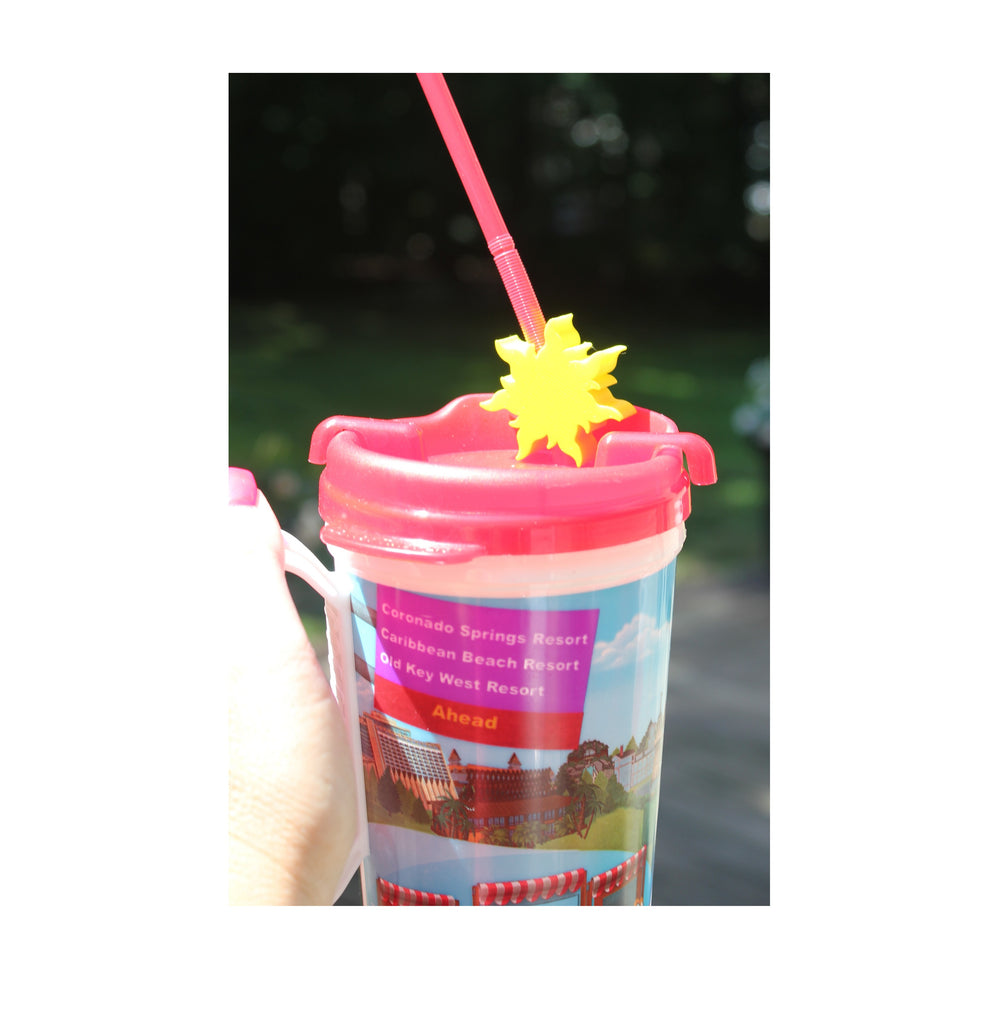 Golden Sun Straw Topper