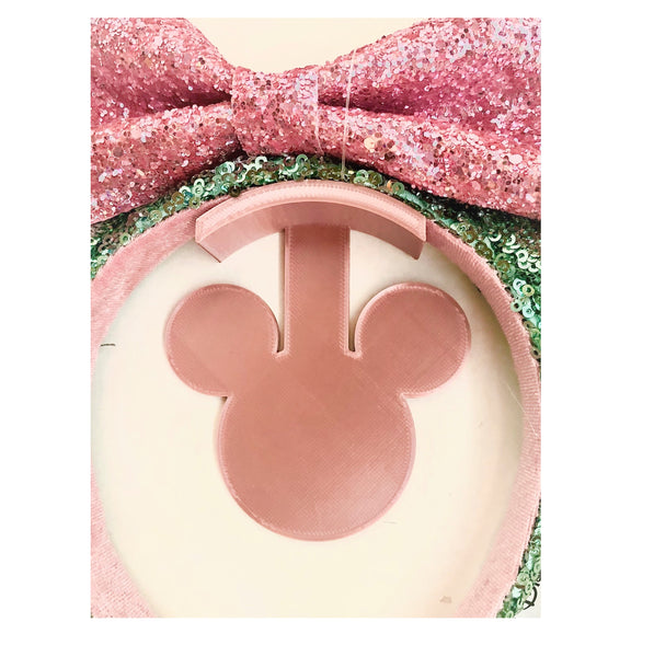 Mouse Head Rose Gold Wall Mount