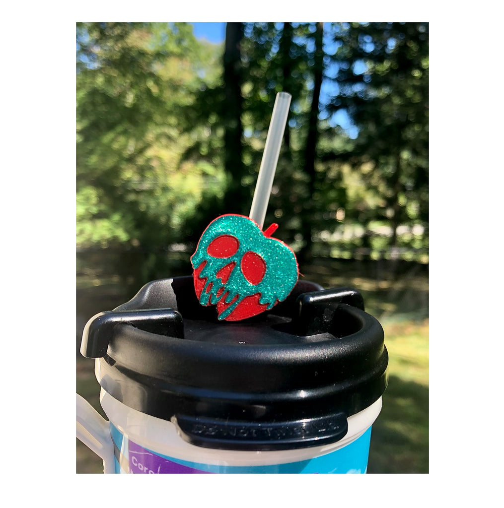 Poison Apple Straw Topper