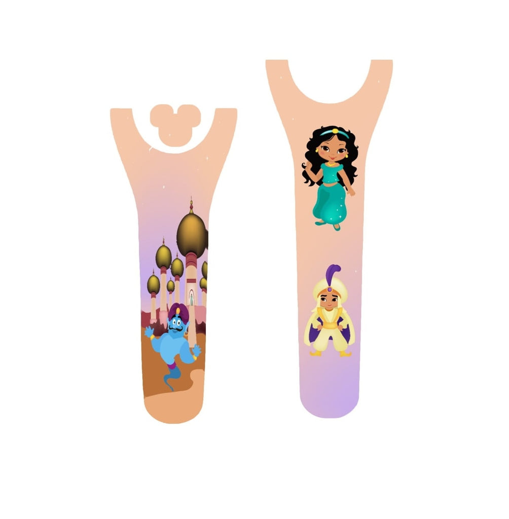 Arabian Princess Couple Decal for Magic Band