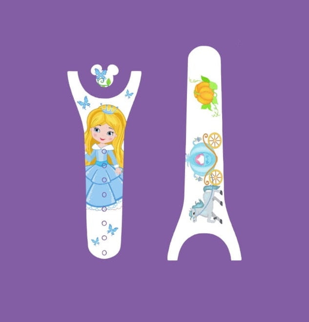 Princess and Carriage Decal for Magic Band
