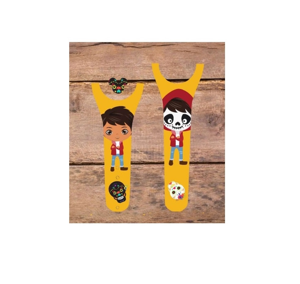 Day of the Dead Boy Decal for Magic Band