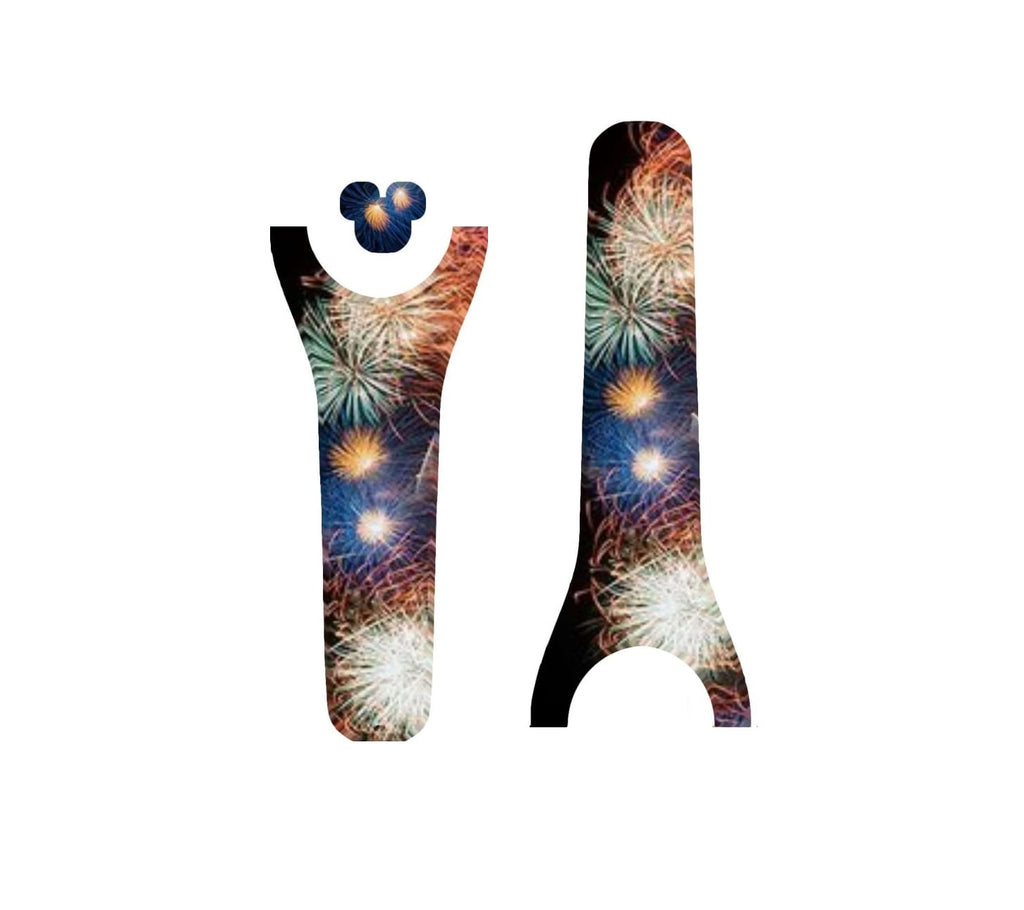 Fireworks Sky Decal for Magic Band