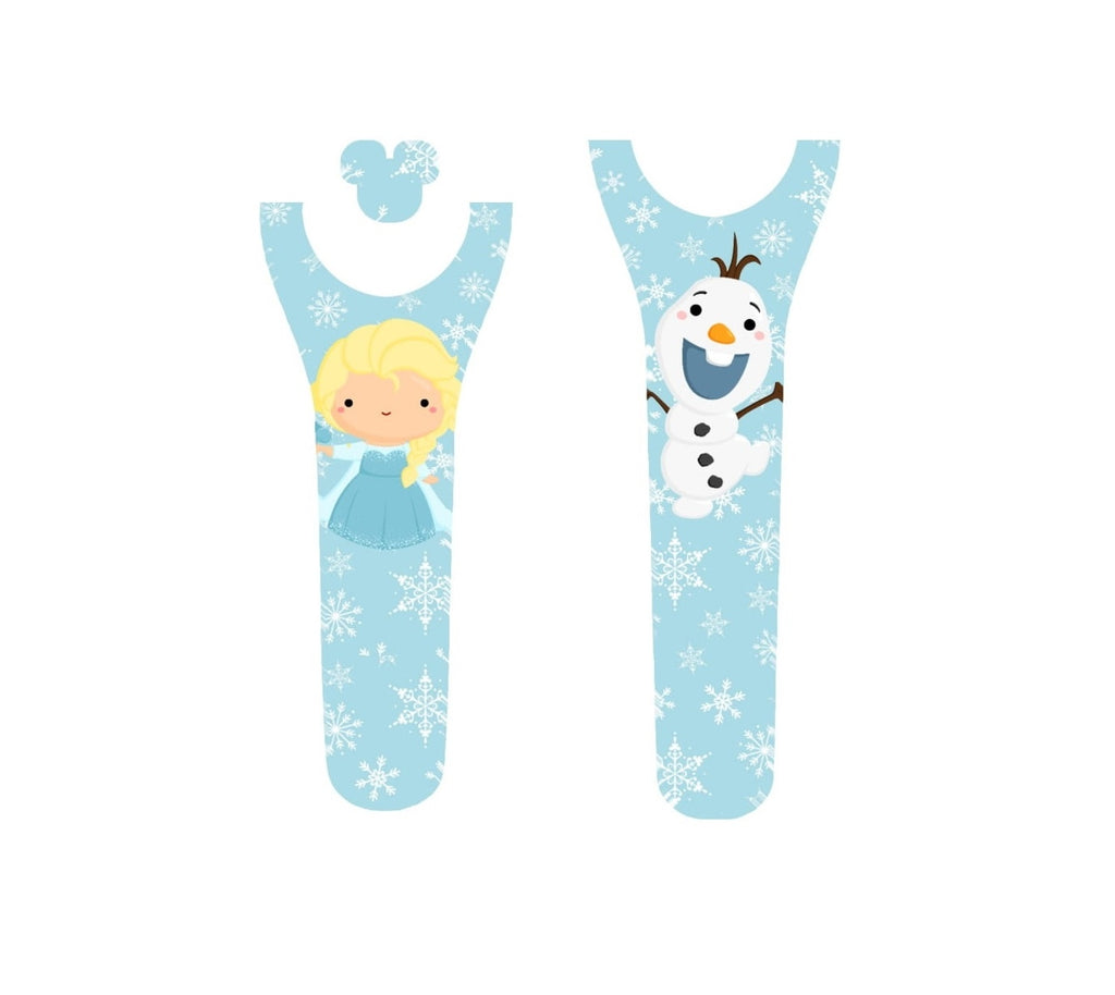 Ice Princess and Snowman Decal for Magic Band