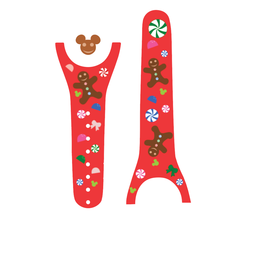 Gingerbread Men Magic Band Decal