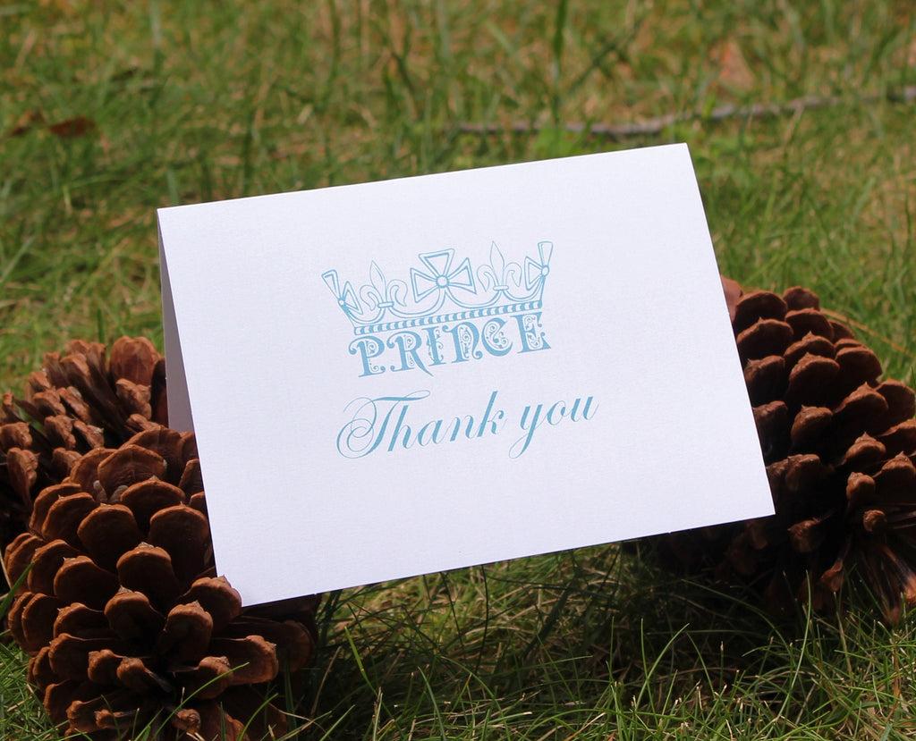 Prince Thank You Card