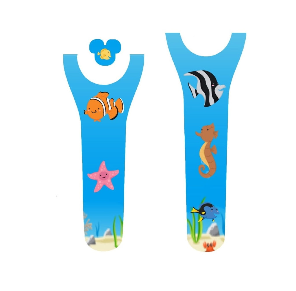 Finding Fish Tank Decal for Magic Band