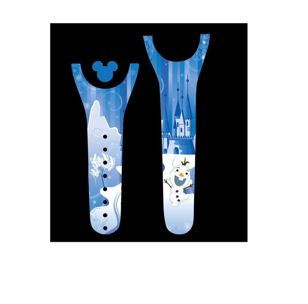 Snowman Friend Decal for Magic Band