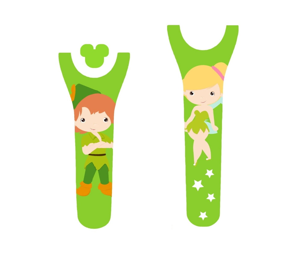 Flying Boy & Fairy Decal for Magic Band