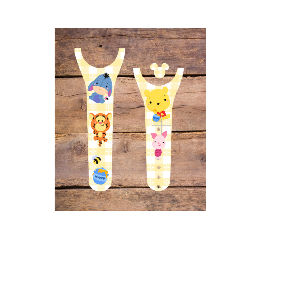 Pooh and Friends Decal for Magic Band