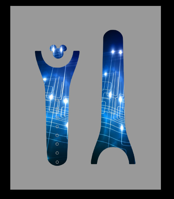 ElecTron Lights Magic Band Decal