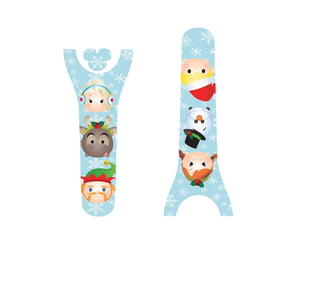 Ice Princess Christmas Decal For Magic Band