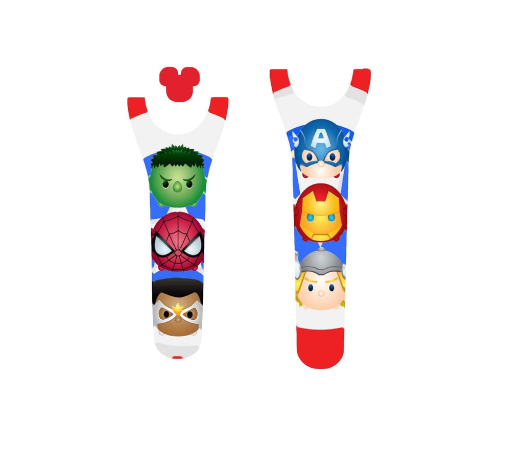 Superhero Friends Decal For Magic Band