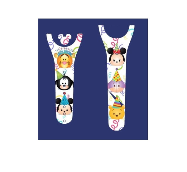 Characters Birthday Decal for Magic Band