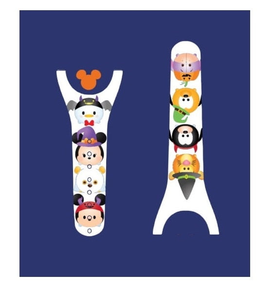 Halloween Character Decal for Magic Band