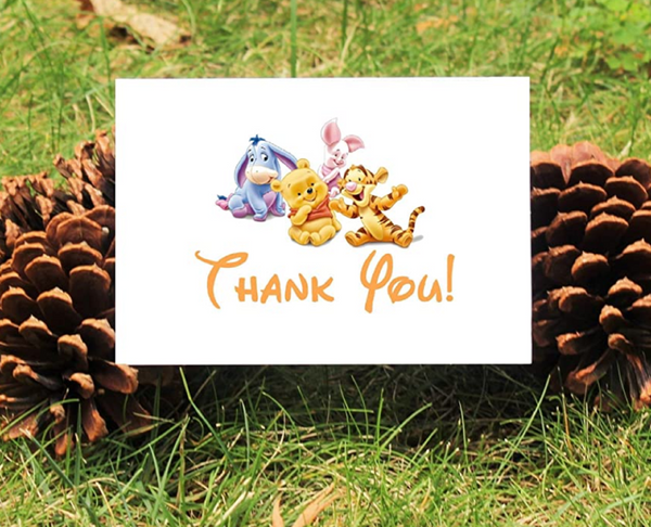 Winnie the Pooh & Friends Thank You Card
