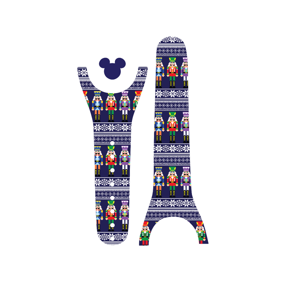 Ugly Christmas Sweater Nutcrackers Magic Band Decal