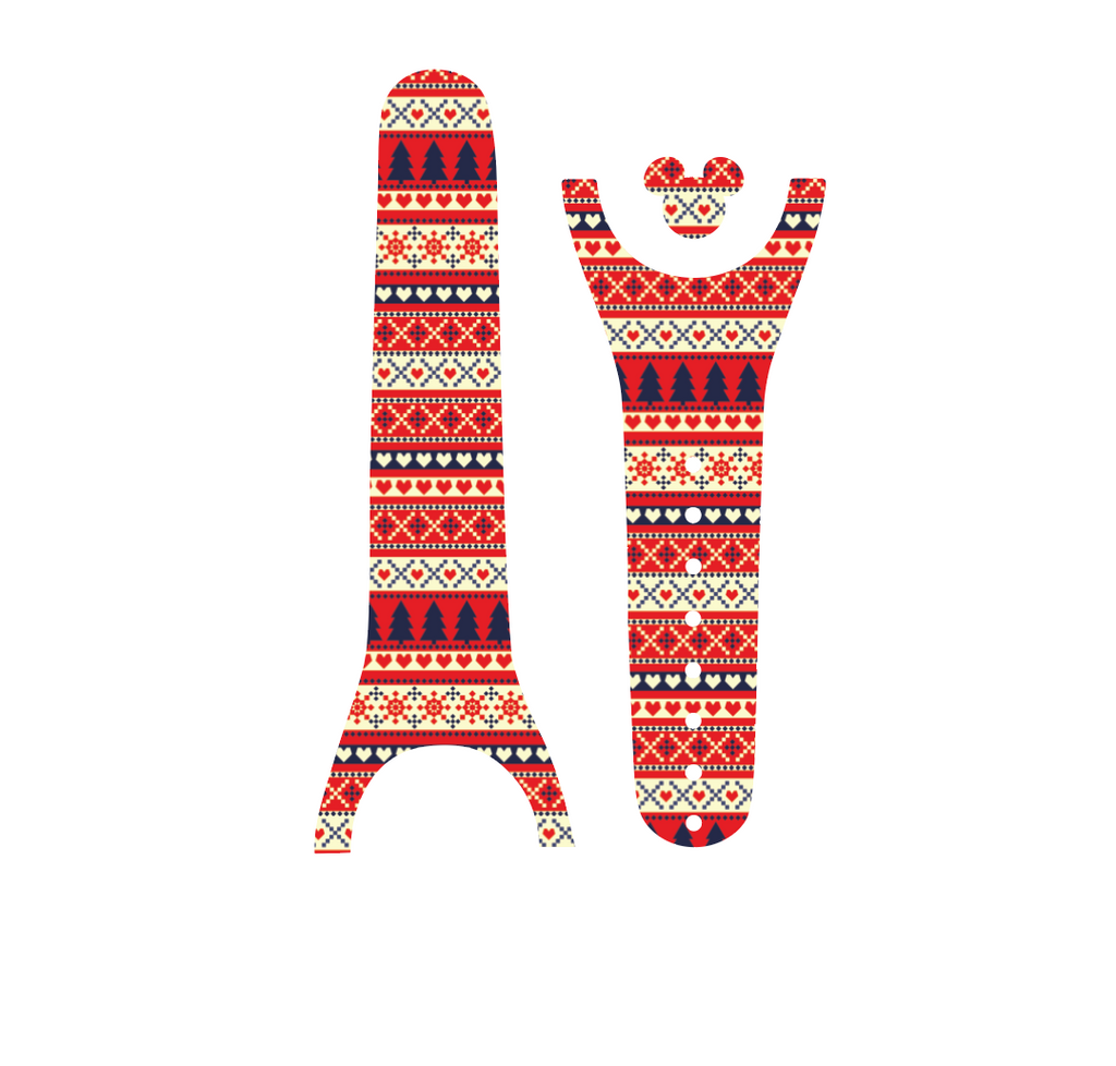 Ugly Christmas Sweater Magic Band Decal