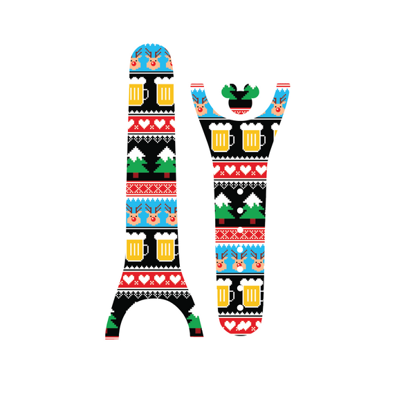 Ugly Christmas Sweater Beer Magic Band Decal