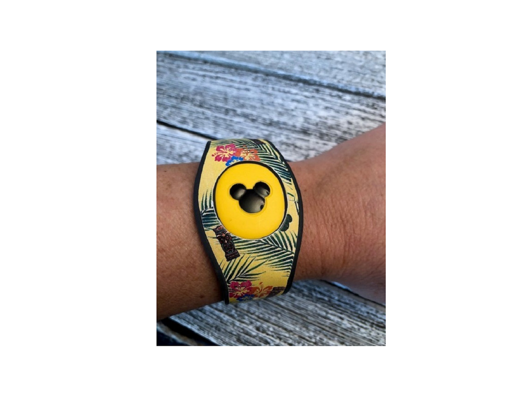 Magic Band Decal Polynesian Themed