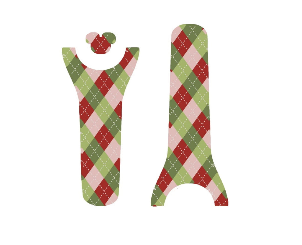 Holiday Multi Plaid Decal for Magic Band