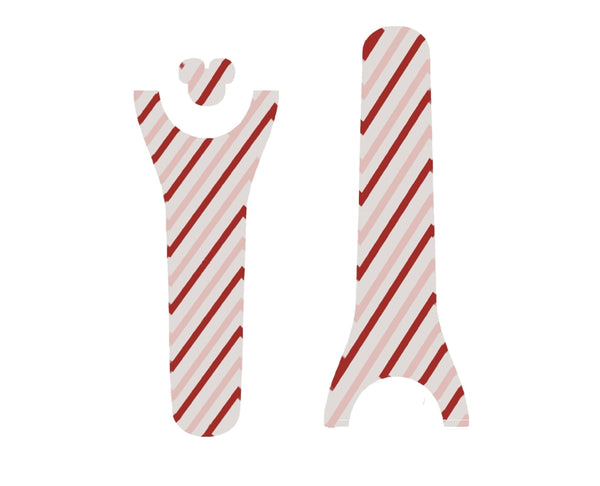 Candy Cane Stripes Decal for Magic Band
