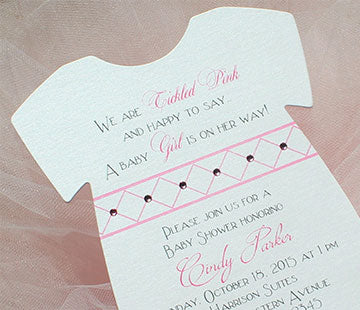 Party invitations: baby showers