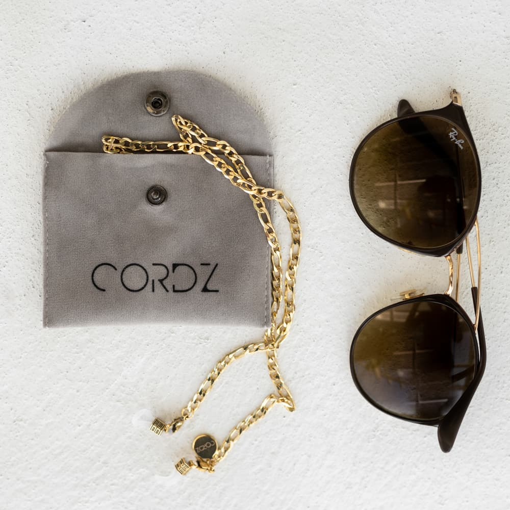Load image into Gallery viewer, Boyfriend Sunglasses Chain 18k Gold-plated