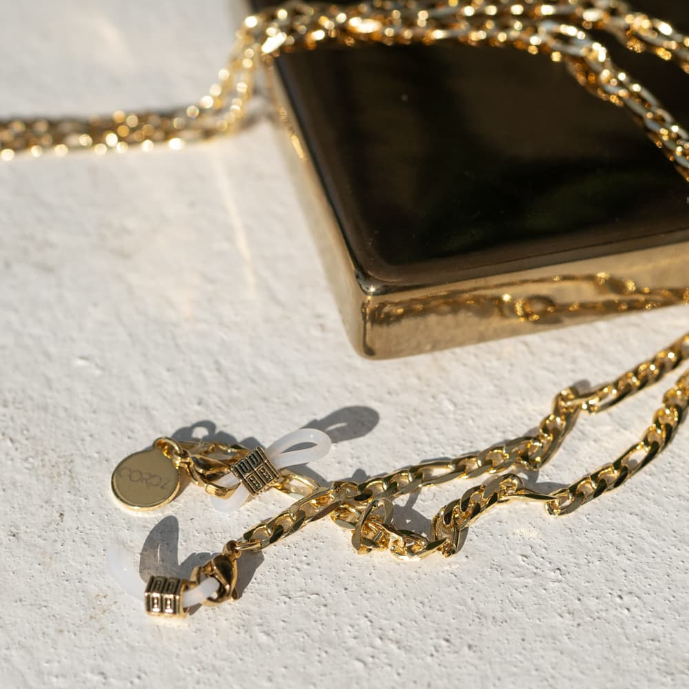 18k Gold-plated Boyfriend Sunglass Chains