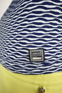 Versace navy top