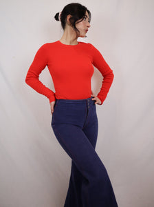 Diane von Fürstenberg cut out jumper