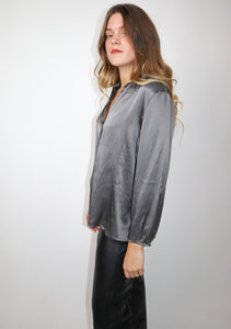 Silk Grey shirt