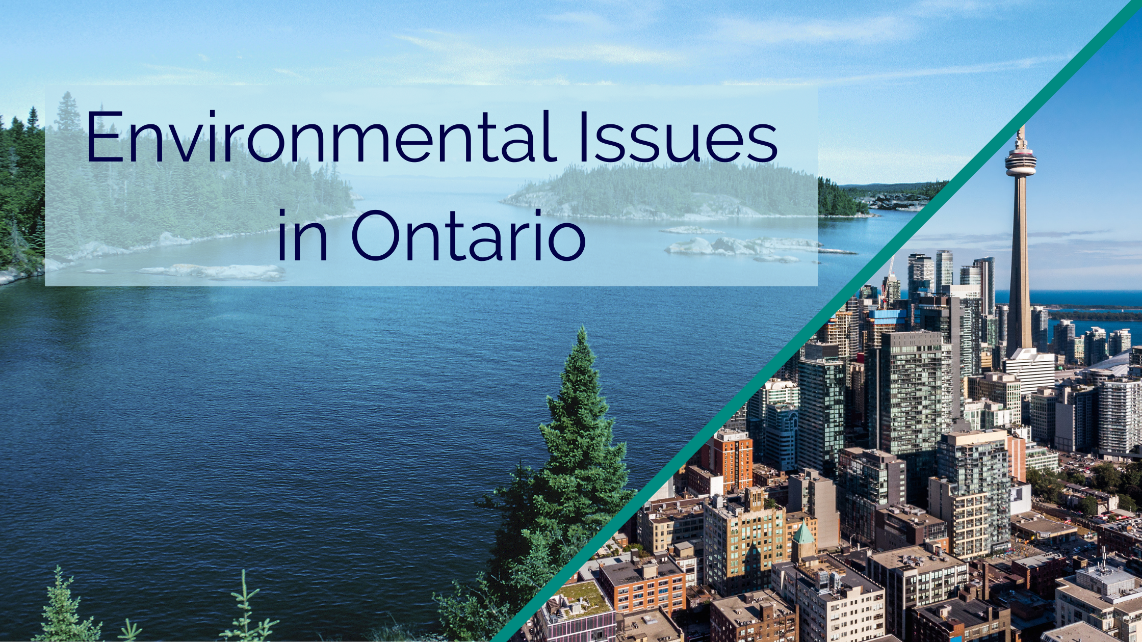 Environmental Issues in Ontario - Borrum Energy Solutions