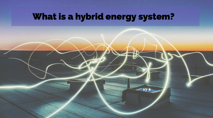 What is a hybrid energy system?