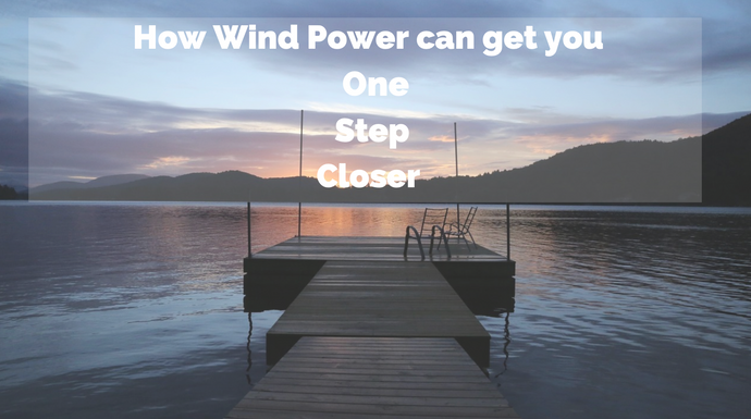 Wind power can get you one step closer to your cottage