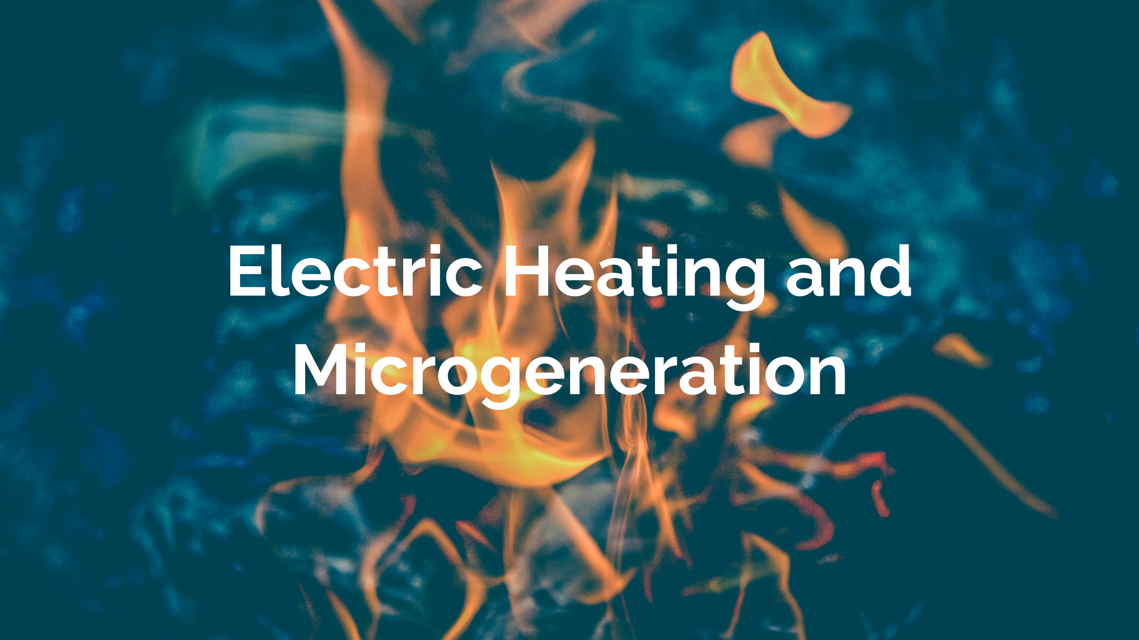 Electric Heating and Microgeneration - Borrum Energy Solutions