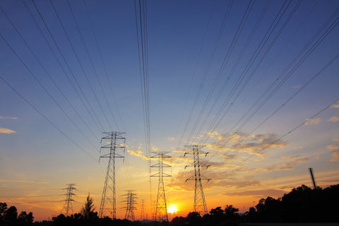 Electrical Grid transmission towers