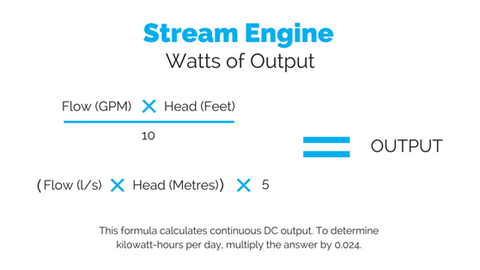 Stream Engine Watts
