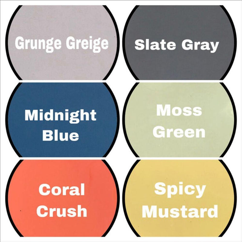 Flip'N Awesome Paint Color Chart More Colors
