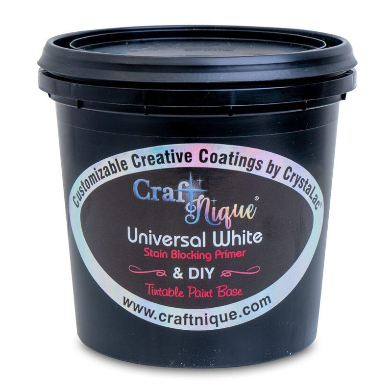 CraftNique Universal White All In One Tintable Paint Base, Primer & Top Coat