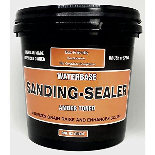 CrystaLac Sanding Sealer Amber Toned Water Based