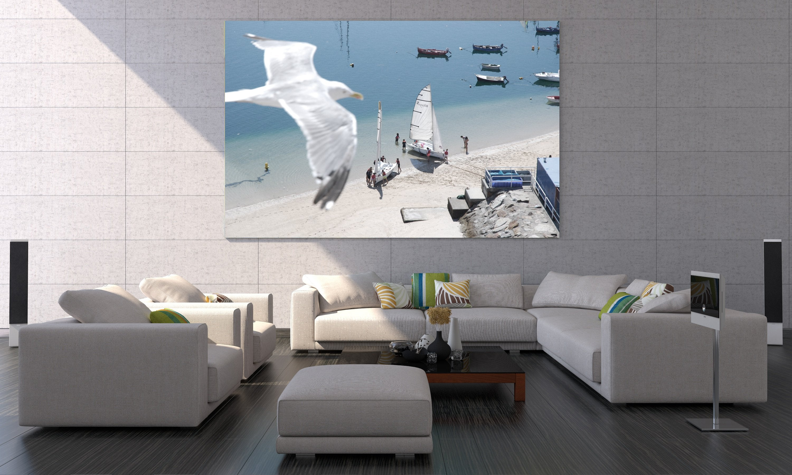 4NT70A - HP Recycled Satin Canvas  - 610 mm x 15.2 m