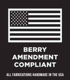 The Red Stripe™ Front Line Mask is Berry Amendment Compliant