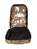 Inside of the Red Stripe™ Poseidon Waterproof Dry Bag - MultiCam® with 4 removable pouches